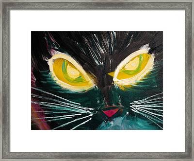 Remkit Framed Print by Leslie Byrne