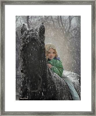 Remme And Rory Framed Print