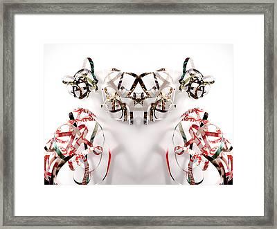 Remmrorobot  Framed Print by Citpelo Xccx