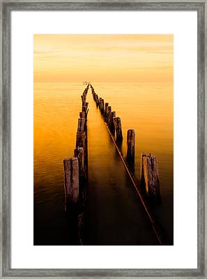 Remnants Framed Print by Chad Dutson
