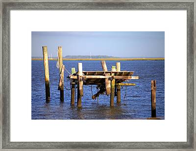 Framed Print featuring the photograph Remnants by Gordon Elwell