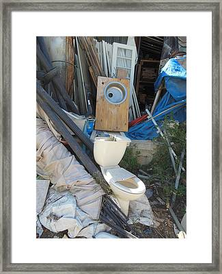 Remnants Of A Life Framed Print by Esther Newman-Cohen