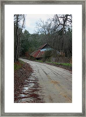 Remnants Of A Simpler Time Framed Print by Suzanne Gaff