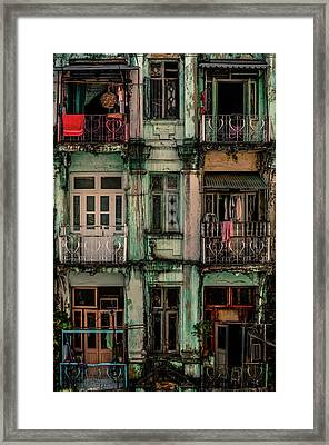 Remnants Of Another Era Framed Print