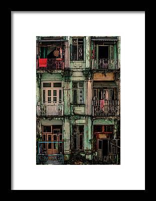 Facade Framed Prints
