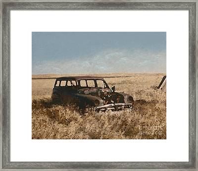 Remnants Of Lives Past Framed Print