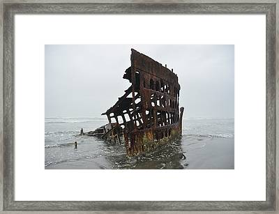 Remnants Of The Past Framed Print by Birches Photography