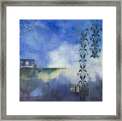 Remnants Of The Vanished Framed Print by Stacey Sherman