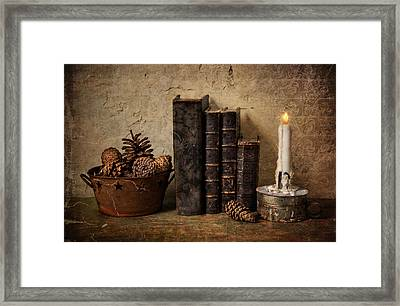 Remnants Framed Print by Robin-Lee Vieira