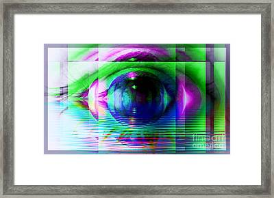 Remote Viewing Framed Print by Elizabeth McTaggart