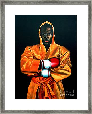 Remy Bonjasky Framed Print by Paul Meijering