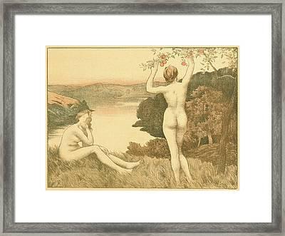 René Menard French, 1862 - 1930. Automne Framed Print
