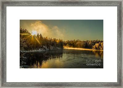Framed Print featuring the photograph Rena  by Rose-Maries Pictures