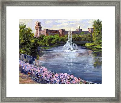 Renaissance Fountain Framed Print
