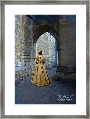 Renaissance Lady Framed Print by Jill Battaglia