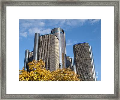 Rencen And Autumn Gold Framed Print by Ann Horn