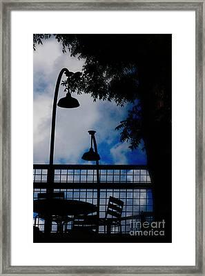Rendezvous Framed Print by Ella Kaye Dickey