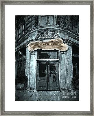 Framed Print featuring the photograph Rendezvous Lounge - Lancaster Pa. by Joseph J Stevens
