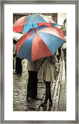 Framed Print featuring the photograph Rendezvous by Sergey Simanovsky