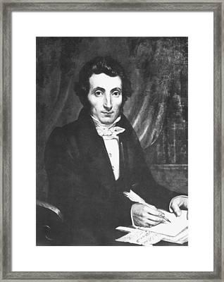 Rene Caillie (1799-1838) Framed Print