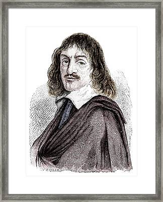 Rene Descartes Framed Print by Science Photo Library