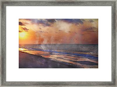 Renewed Framed Print by Betsy Knapp