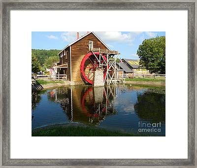 Framed Print featuring the photograph Renfro Valley  Mill by Mary Carol Story