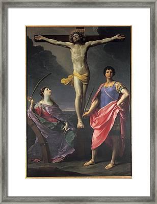 Reni Guido, Jesus Christ Crucified Framed Print by Everett
