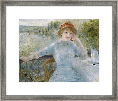 Renior Woman Seated, 1879 Framed Print by Granger