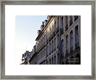 Rennes France 3 Framed Print