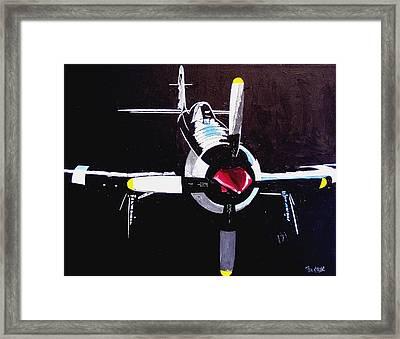 Reno Air Races Framed Print by Paul Guyer