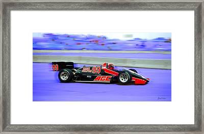 Reno Grand Prix Framed Print