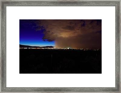 Reno Haboob  Framed Print by Scott McGuire