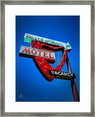 Reno - Heart O' Town Motel Framed Print