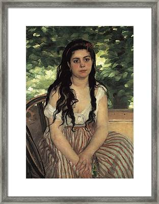 Renoir, Pierre-auguste 1841-1919. In Framed Print by Everett