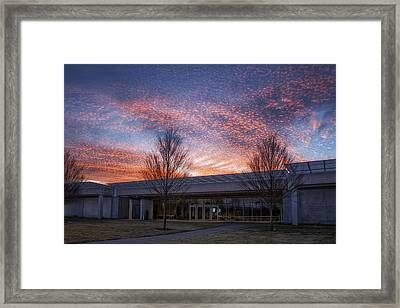 Renzo Piano Pavilion Framed Print by Joan Carroll