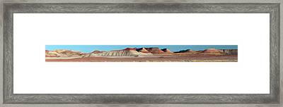Framed Print featuring the photograph Repainted Desert by Gregory Scott