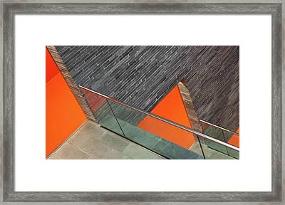 Repeat The Orange Framed Print