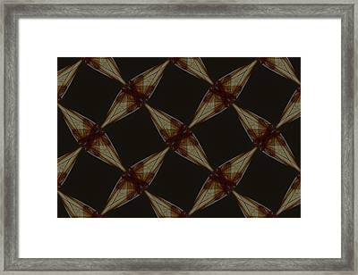 Repeating Patterns 2 Framed Print