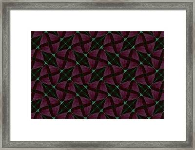 Repeating Patterns 4 Framed Print