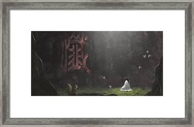 Repentance Framed Print by Hiroshi Shih