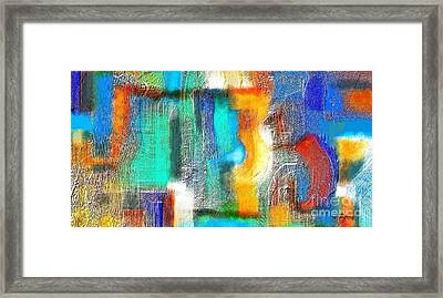 Repercussions Framed Print by D Perry