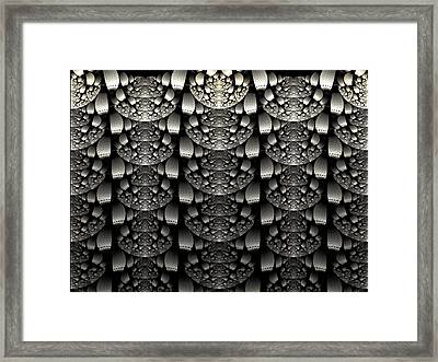 Repetition Framed Print by Lea Wiggins