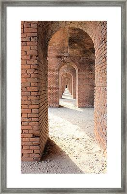 Repetition Framed Print by Mary Haber