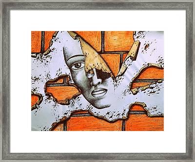 Repetitive Behaviors Of Self-sabotage Framed Print