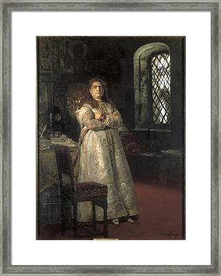 Repin, Ilya Yefimovich 1844-1930. Grand Framed Print by Everett