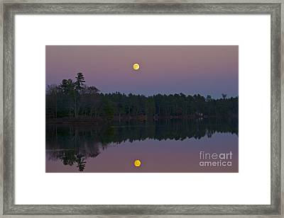 Replacing The Sunset Framed Print