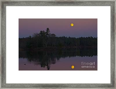 Replacing The Sunset II Framed Print