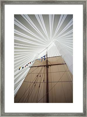 Replica Of Viking Ship, Heritage Framed Print by Panoramic Images