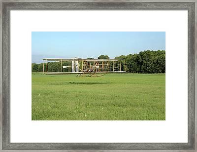 Replica Wright Flyer Framed Print
